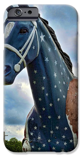 Patriotism iPhone Cases - Commerford Entrance iPhone Case by Jeff  Gettis