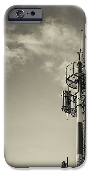 Communication Tower iPhone Case by Marco Oliveira