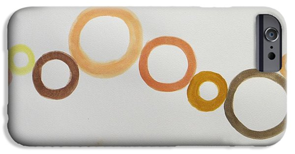 Bonding Paintings iPhone Cases - Communis iPhone Case by Sonali Gangane
