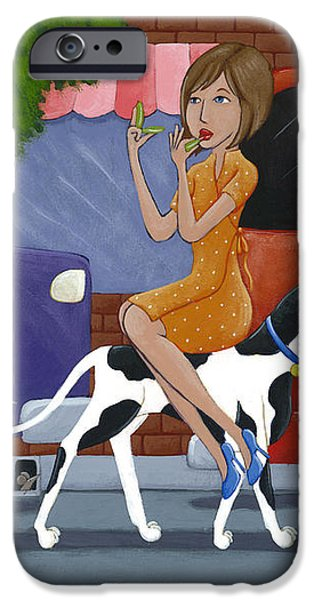 Commuting iPhone Case by Christy Beckwith