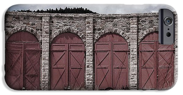 Shed iPhone Cases - Como Roundhouse iPhone Case by Ken Smith