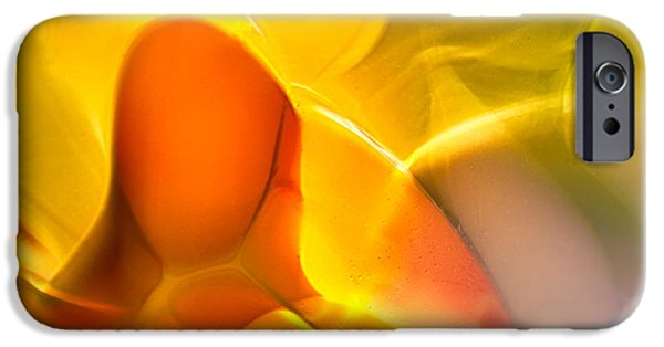 Fine Abstract Glass iPhone Cases - Companionship iPhone Case by Omaste Witkowski