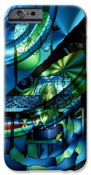 Figure iPhone Cases - Composing Matisse  iPhone Case by Kim Peto