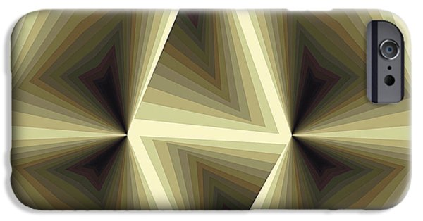 Non-objective iPhone Cases - Composition 192 iPhone Case by Terry Reynoldson