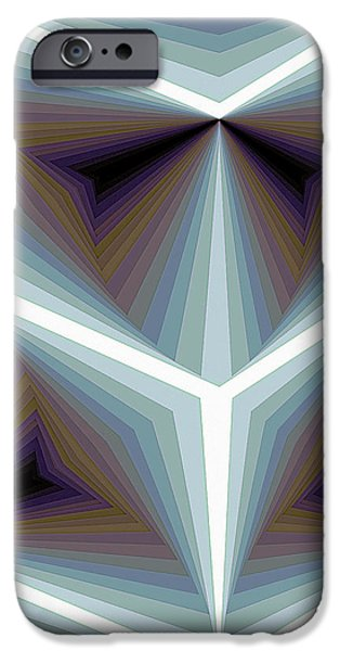 Modern Paintings iPhone Cases - Composition 195 iPhone Case by Terry Reynoldson