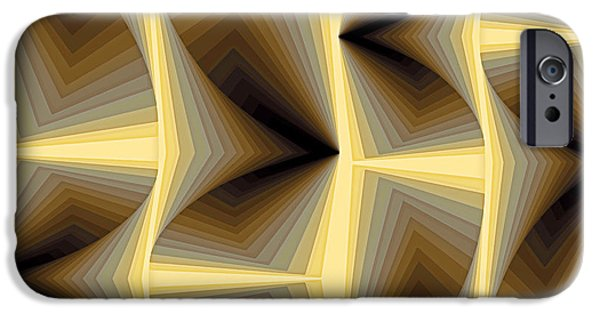 Neo-plasticism iPhone Cases - Composition 252 iPhone Case by Terry Reynoldson
