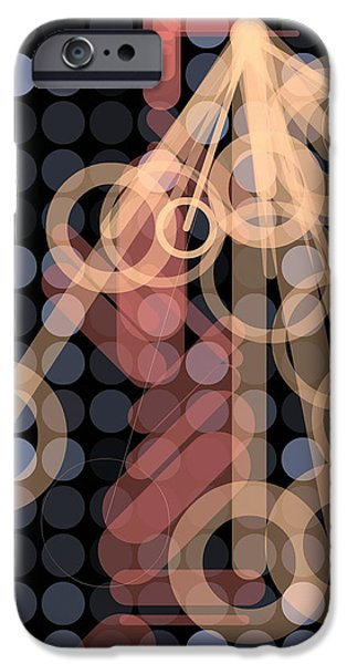 Neo-plasticism iPhone Cases - Composition 40 iPhone Case by Terry Reynoldson