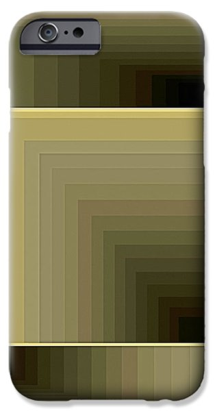 Neo-plasticism iPhone Cases - Composition 71 iPhone Case by Terry Reynoldson