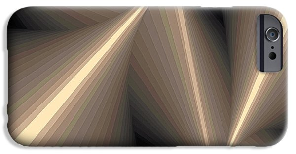 Neo-plasticism iPhone Cases - Composition 93 iPhone Case by Terry Reynoldson