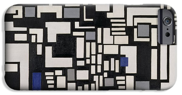 Modernist iPhone Cases - Composition IX iPhone Case by Theo Van Doesburg