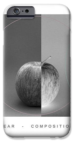 Compositionally Apples iPhone Case by Natalie Kinnear