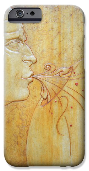 Bas Relief Reliefs iPhone Cases - Conceptual Investment iPhone Case by Jeremiah Welsh