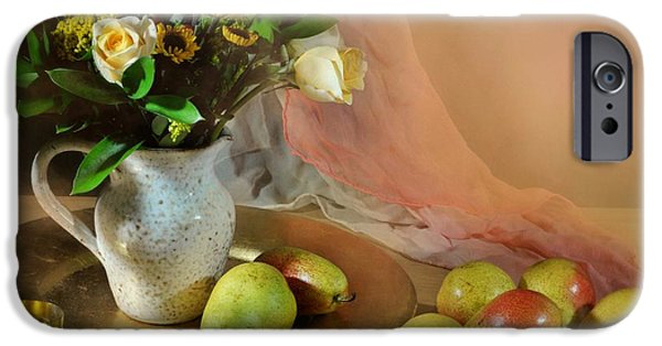 Still Life With Pitcher iPhone Cases - Concerto iPhone Case by Diana Angstadt