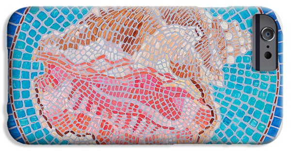 Mosaic iPhone Cases - Conched Out iPhone Case by Danielle  Perry