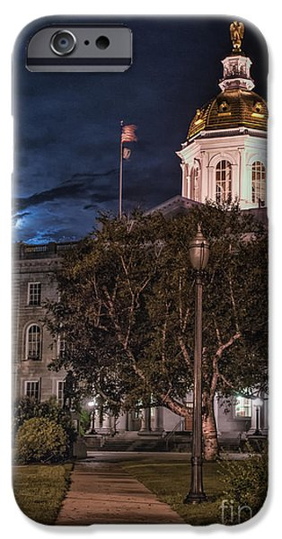 Concord iPhone Cases - Concord by Moonlight iPhone Case by Scott Thorp