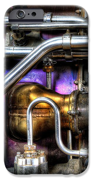 Concord Engine HDR iPhone Case by SteveHPhotos