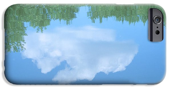 Concord Massachusetts iPhone Cases - Concord River Reflection iPhone Case by Bucko Productions Photography