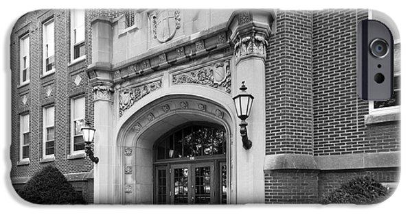 Minnesota iPhone Cases - Concordia University Meyer Hall iPhone Case by University Icons