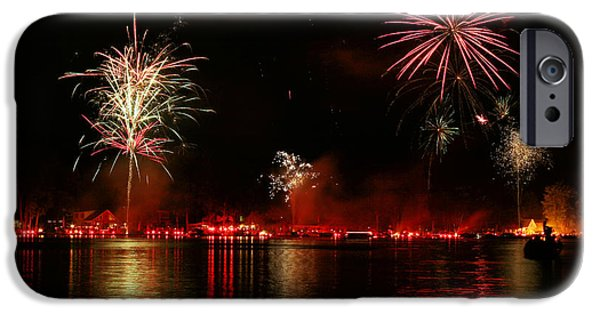 Recently Sold -  - 4th Of July iPhone Cases - Conesus Ring Of Fire iPhone Case by Richard Engelbrecht