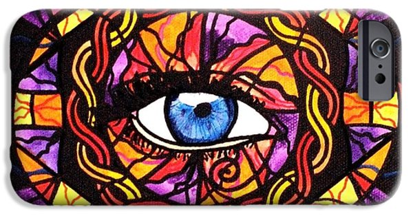Sacred iPhone Cases - Confident Self Expression iPhone Case by Teal Eye  Print Store