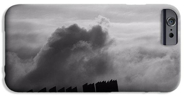 Approaching Storm iPhone Cases - Confrontation iPhone Case by Dan Sproul