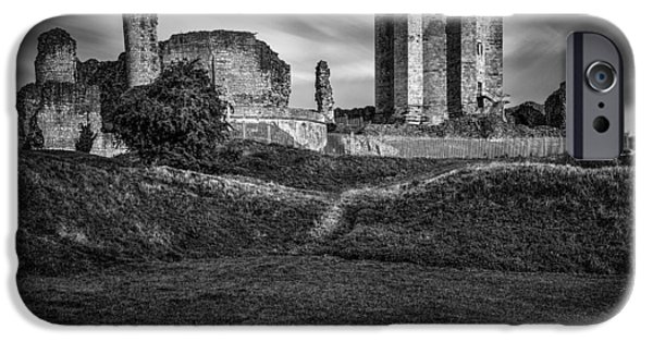 Castle iPhone Cases - Conisbrough Castle Doncaster iPhone Case by Ian Barber
