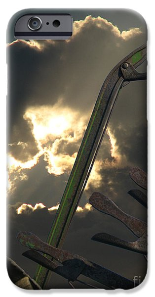 conjuring iPhone Case by Maurice Beebe