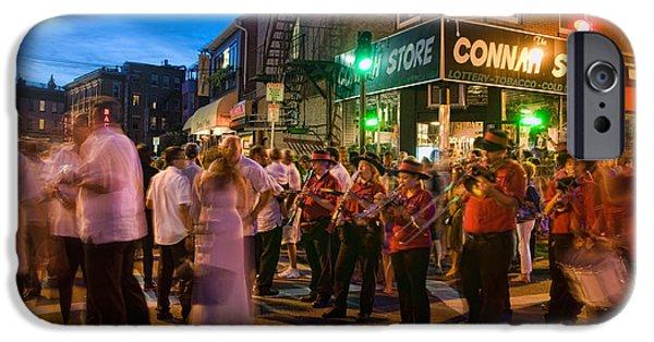 City. Boston iPhone Cases - Connah Store - Boston iPhone Case by Joann Vitali