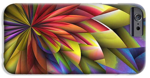 Business Digital Art iPhone Cases - Conservatory Rendezvous iPhone Case by Wendy J St Christopher