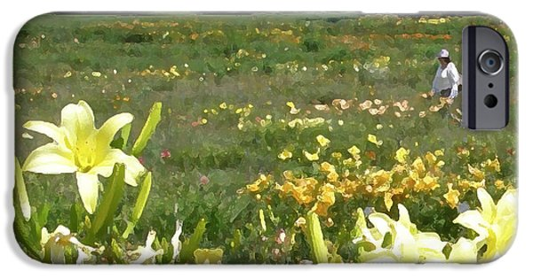 July iPhone Cases - Consider the Lilies of the Field iPhone Case by Jean Hall