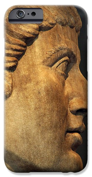 4th Photographs iPhone Cases - Constantine I, The Great 272-337. Roman Emperor iPhone Case by Bridgeman Images