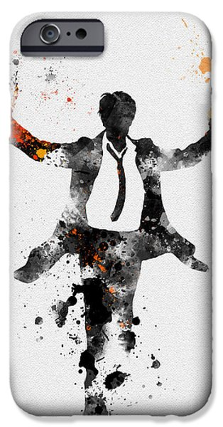 Detectives iPhone Cases - Constantine iPhone Case by Rebecca Jenkins