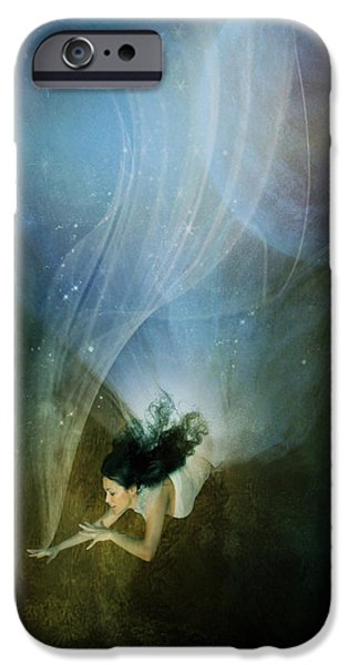 Northern Lights iPhone Cases - Constellation iPhone Case by Karen K
