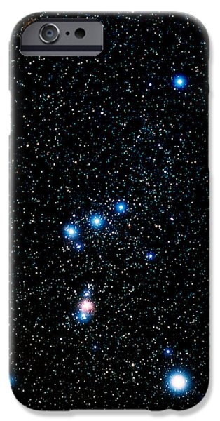 Constellations iPhone Cases - Constellation Of Orion iPhone Case by John Chumack