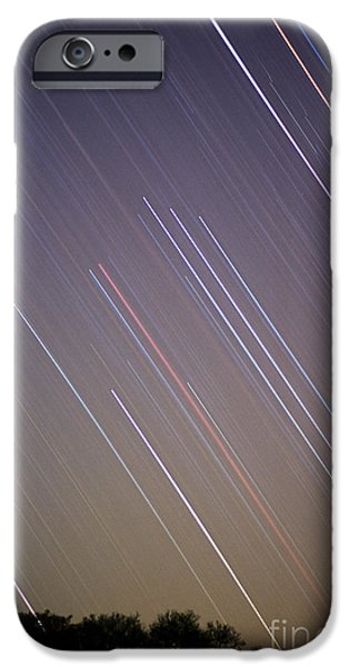 Constellations iPhone Cases - Constellation Orion Setting In Texas iPhone Case by Gregory G. Dimijian