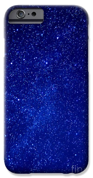 Destiny Photographs iPhone Cases - Constellation Cassiopeia  iPhone Case by Thomas R Fletcher