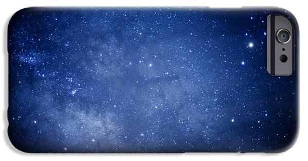 Astral iPhone Cases - Constellations and Milky Way iPhone Case by Thomas R Fletcher