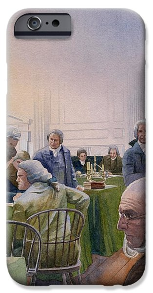 Constitutional Convention iPhone Case by Rob Wood