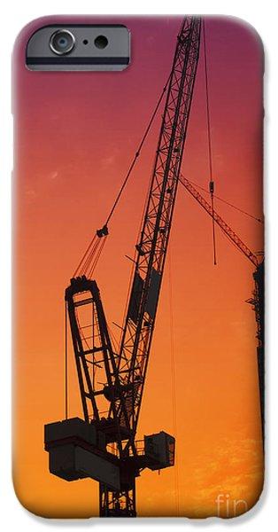 Construction site iPhone Case by Jelena Jovanovic