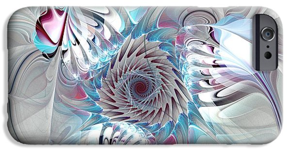 Gear iPhone Cases - Contact iPhone Case by Anastasiya Malakhova