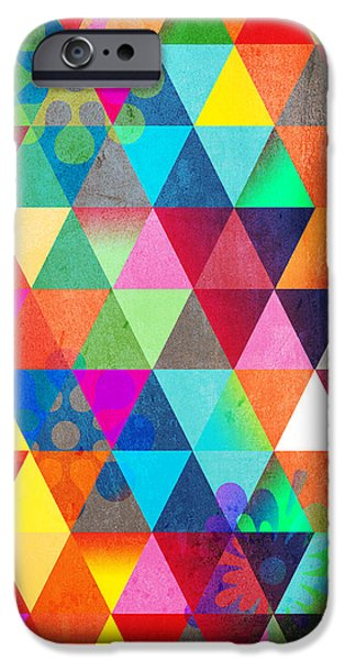 Animation iPhone Cases - Contemporary 3 iPhone Case by Mark Ashkenazi