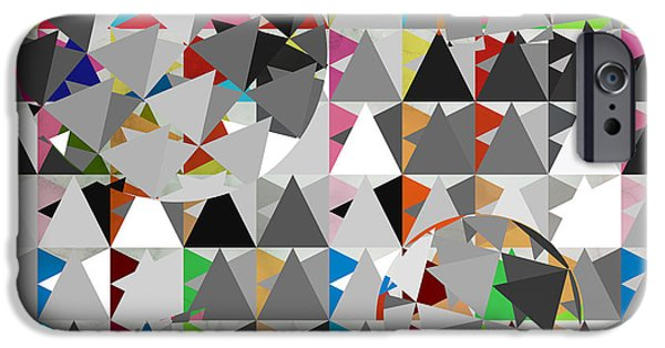 Animation iPhone Cases - Contemporary iPhone Case by Mark Ashkenazi