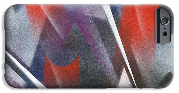 Dynamism iPhone Cases - Continuum iPhone Case by Hakon Soreide
