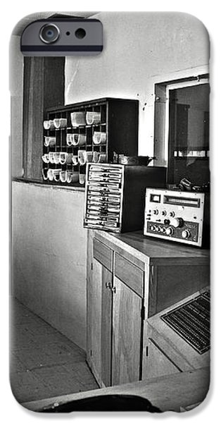 Control room in Alcatraz Prison iPhone Case by RicardMN Photography
