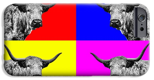Coos iPhone Cases - Coo Pop Art iPhone Case by John Farnan