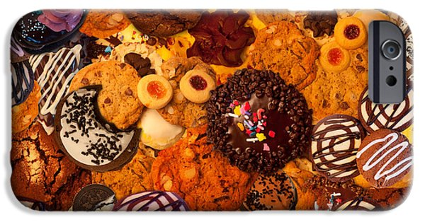 Cookie iPhone Cases - Cookie Crazy 2  iPhone Case by Alixandra Mullins