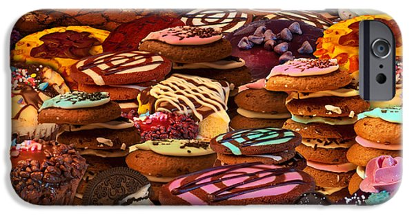 Cookie iPhone Cases - Cookie Crazy iPhone Case by Alixandra Mullins