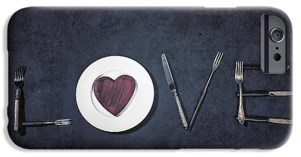 Love Photographs iPhone Cases - Cooking With Love iPhone Case by Joana Kruse
