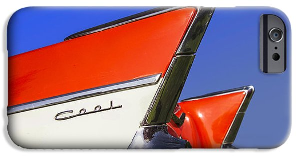 Antique Cars iPhone Cases - Cool Car iPhone Case by Diane Diederich