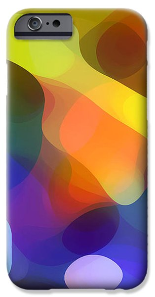 Cool Dappled Light iPhone Case by Amy Vangsgard